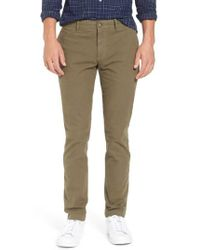 Original Penguin - Green Slim Fit Chinos for Men - Lyst