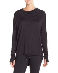 Bench - Black 'highs' Cowl Neck Top - Lyst