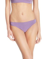 Tory Burch - Purple 'laurito' Hipster Bikini Bottoms - Lyst
