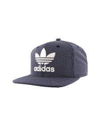 Adidas Originals - Blue 'trefoil Plus' Snapback Cap for Men - Lyst