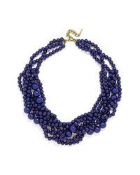 BaubleBar | Blue 'bubblestream' Collar Necklace | Lyst