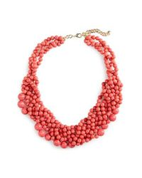 BaubleBar - Red 'bubblestream' Collar Necklace - Lyst