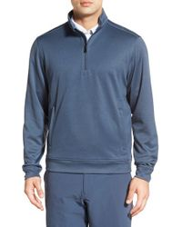 Cutter & Buck - Blue 'weather Tec Orbit' Half Zip Pullover for Men - Lyst