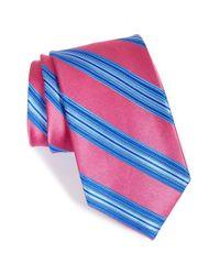 Nordstrom - Blue Nordstrom Stripe Silk Tie for Men - Lyst