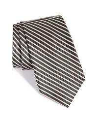 Nordstrom - Black Nordstrom 'down Hill Skier' Stripe Silk Tie for Men - Lyst
