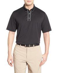 Lone Cypress Pebble Beach | Black Stripe Moisture Wicking Golf Polo for Men | Lyst
