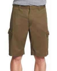 Victorinox - Green Victorinox Swiss Army 'baumer' Cargo Shorts for Men - Lyst