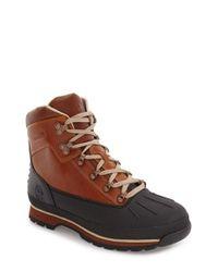 Timberland - Brown Euro Waterproof Hiking Boot for Men - Lyst