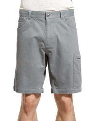 W.r.k. - Gray 'pier' Cargo Shorts for Men - Lyst