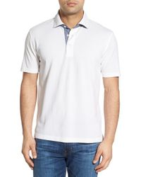 Brooks Brothers - White Slim Fit Cotton Polo for Men - Lyst