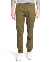 Relwen - Natural 'climbing' Tapered Fit Chinos for Men - Lyst