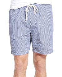 Relwen - Blue Cotton Hybrid Shorts for Men - Lyst