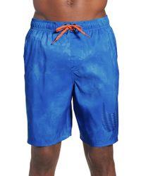 Nike - Blue 'solar Fade' Volley Swim Shorts for Men - Lyst