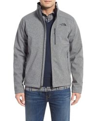 The North Face | Gray 'apex Bionic 2' Windproof & Water Resistant Soft Shell Jacket for Men | Lyst