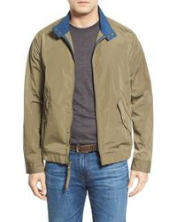 Marc New York - Green Moto Jacket for Men - Lyst