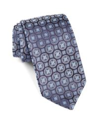 Robert Talbott | Blue Medallion Silk Tie for Men | Lyst
