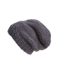 Barefoot Dreams | Gray Barefoot Dreams 'cozy Chic' Slouch Beanie | Lyst