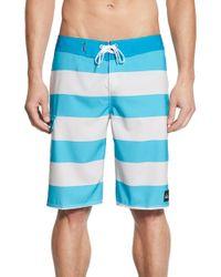 Quiksilver - Blue 'everyday Stripe 21' Board Shorts for Men - Lyst