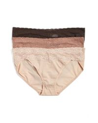 Natori | Natural 'bliss Perfection' Bikini Briefs | Lyst
