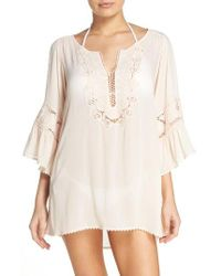L*Space   Green 'breakaway' Cover-up Tunic   Lyst