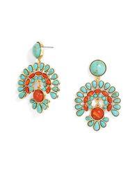 BaubleBar - Blue 'baha' Drop Earrings - Lyst