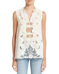 Sea | Multicolor Sleeveless Embroidered Top | Lyst