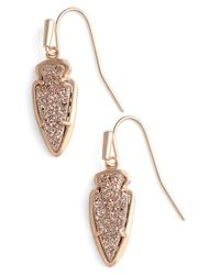 Kendra Scott - Multicolor 'kate' Drop Earrings - Lyst