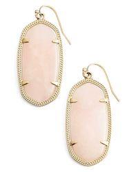 Kendra Scott | Metallic 'elle' Drop Earrings | Lyst