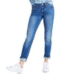 Madewell | Blue The Slim Boyjean Boyfriend Jeans | Lyst