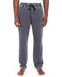 Daniel Buchler | Multicolor Washed Cotton Blend Terry Lounge Pants for Men | Lyst