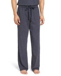 Daniel Buchler | Blue Recycled Cotton Blend Lounge Pants for Men | Lyst