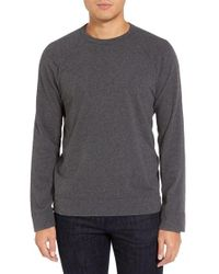 James Perse | Gray Long Raglan Sleeve T-shirt for Men | Lyst