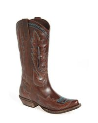 Matisse | Brown Hector Western Boot | Lyst