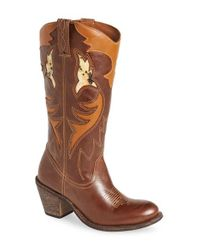 Matisse | Brown Hess Western Boot | Lyst