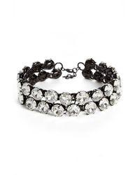 Ashley Williams | Black Crystal Choker Necklace | Lyst