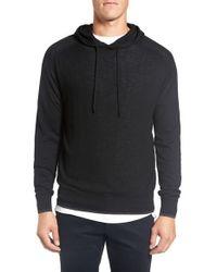 Good Man Brand - Black 'classic' Merino Wool Hoodie for Men - Lyst