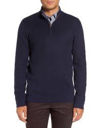 Ted Baker | Blue 'pinball' Modern Trim Fit Sweater for Men | Lyst