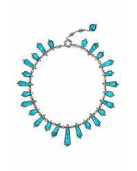 Konstantino | Blue 'iliada' Semiprecious Doublet Necklace | Lyst