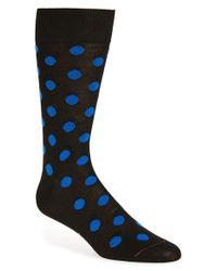 Paul Smith | Black 'maxi' Dot Socks | Lyst