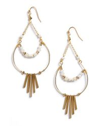 Nakamol | Metallic Teardrop Earrings | Lyst