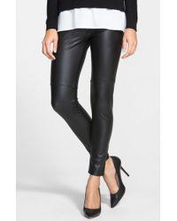 Lyssé | Black Faux Leather Leggings | Lyst
