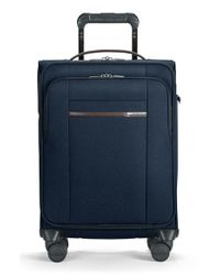 Briggs & Riley | Blue 'kinzie Street' International Wheeled Carry-on for Men | Lyst