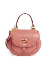 638e841d1efe Lyst - MICHAEL Michael Kors 'medium Isadore' Crossbody Bag in Pink