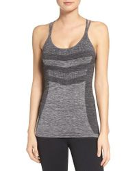 Zella | Black Activation Seamless Tank | Lyst