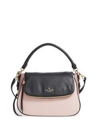 kate spade new york | Black 'cobble Hill - Deva' Leather Crossbody Bag | Lyst