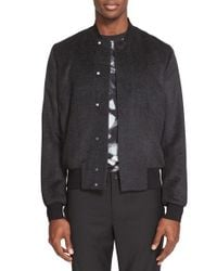 PS by Paul Smith - Black Bomber Jacket for Men - Lyst