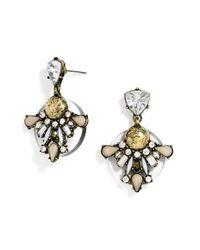 BaubleBar - Metallic Drop Earrings - Lyst