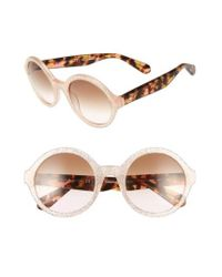 kate spade new york | Multicolor 'khriss' 52mm Round Sunglasses | Lyst