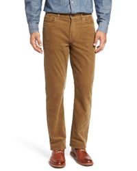 Cutter & Buck | Brown 'greenwood' Stretch Corduroy Pants for Men | Lyst