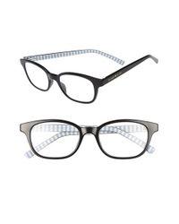kate spade new york   Black Kya 49mm Reading Glasses   Lyst